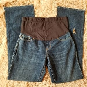 Gap Maternity Jeans Truly Showing Stretch Panel